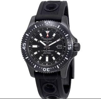 Breitling Superocean II 44 Automatic Black Dial Watch M1739313/BE92
