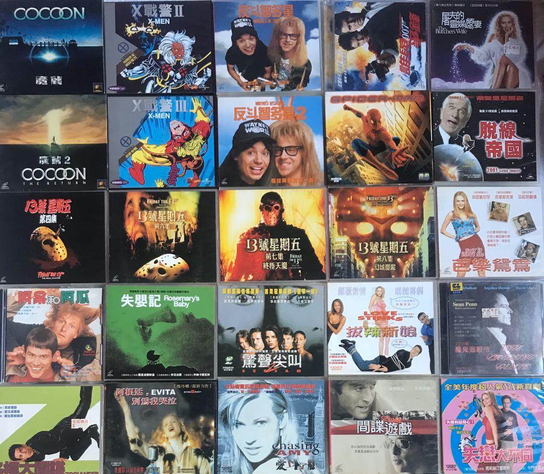 25片 VCD 電影 🎬 (全部)
