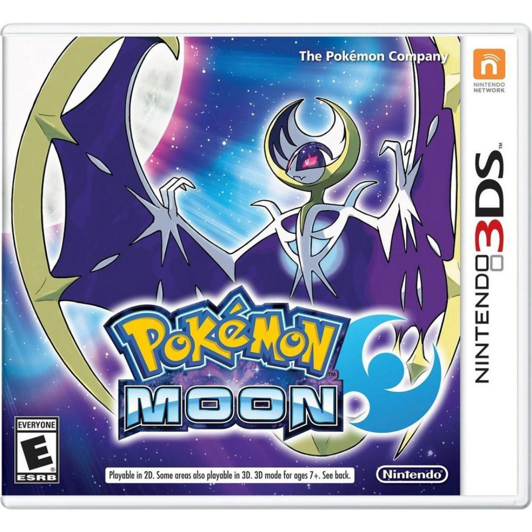 3DS Pokemon Moon (Brand New and Sealed)