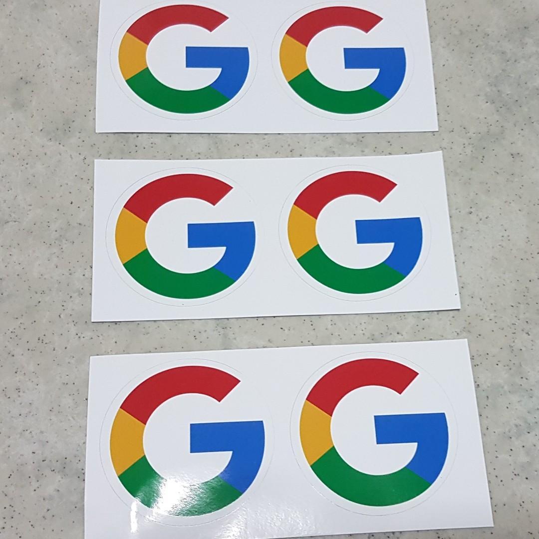 $4 each Google Pixel sticker
