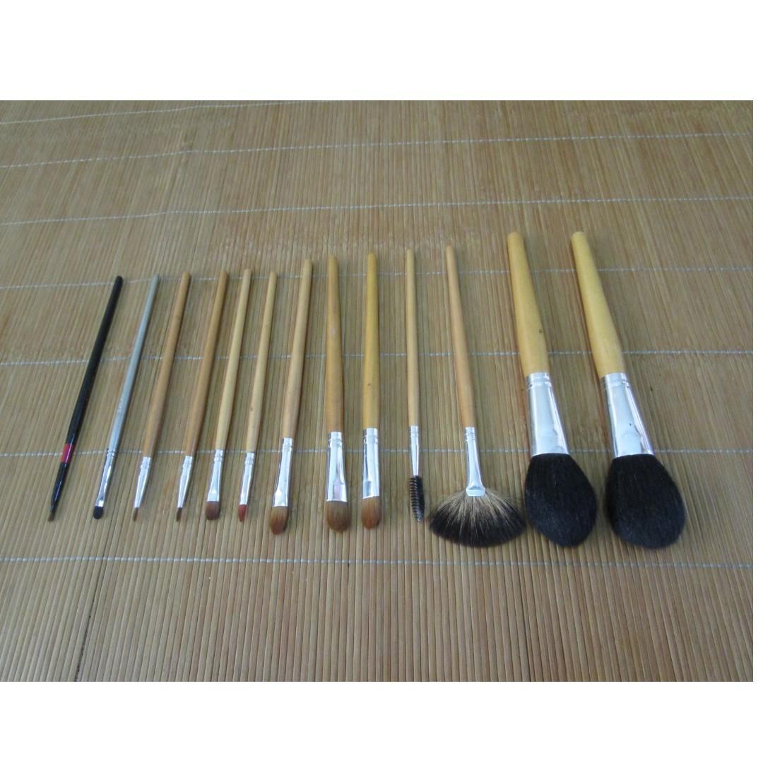 化妝筆 / 彩妝刷 (13支一起賣)