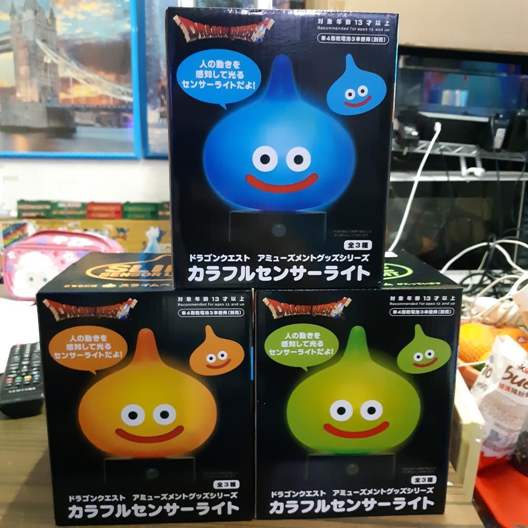 史萊姆 感應燈 Dragon  Quest AM colorful sensor light