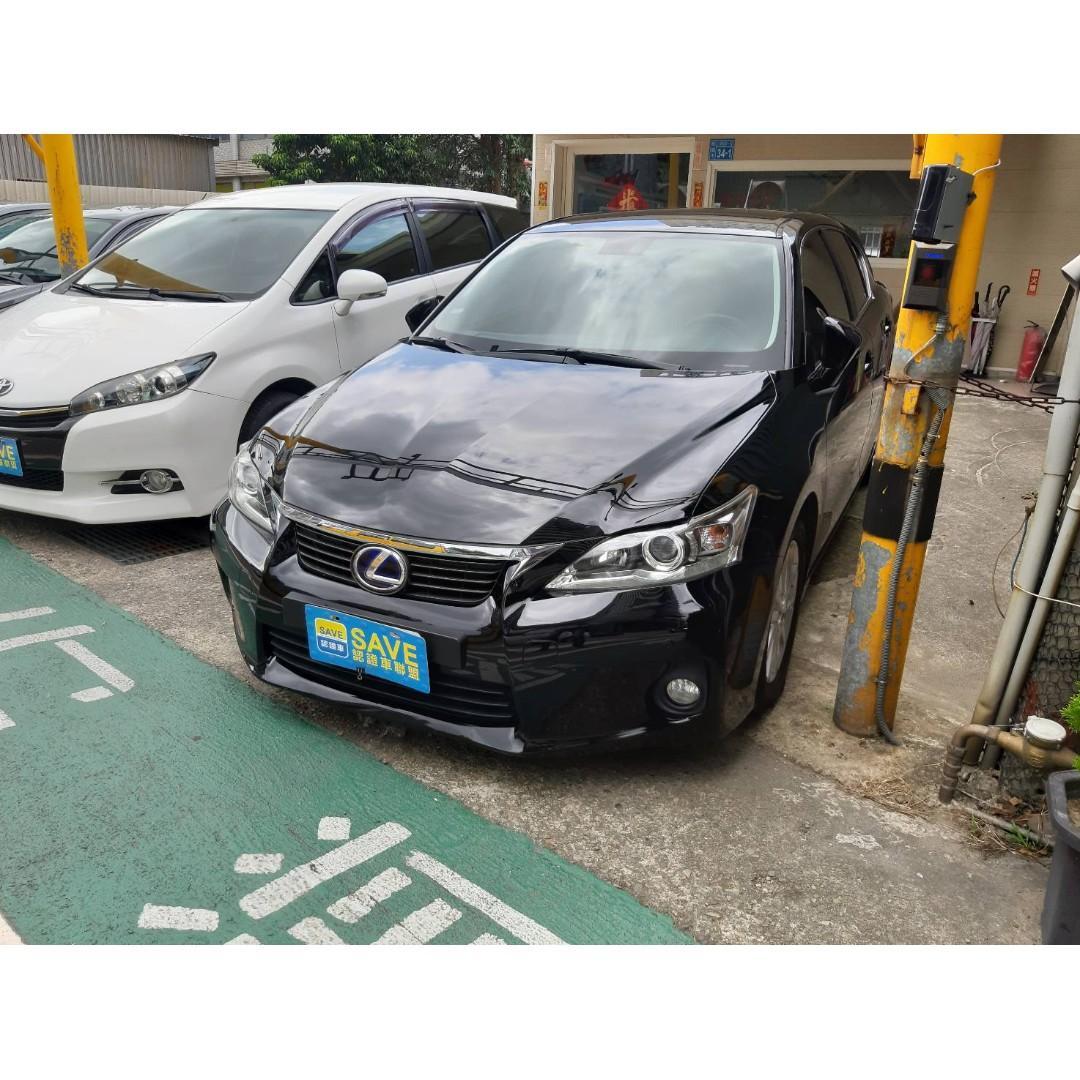 日系車種 優良品牌 LEXUS CT200H 一手車 全車原鈑件 豪華版 油電混合車