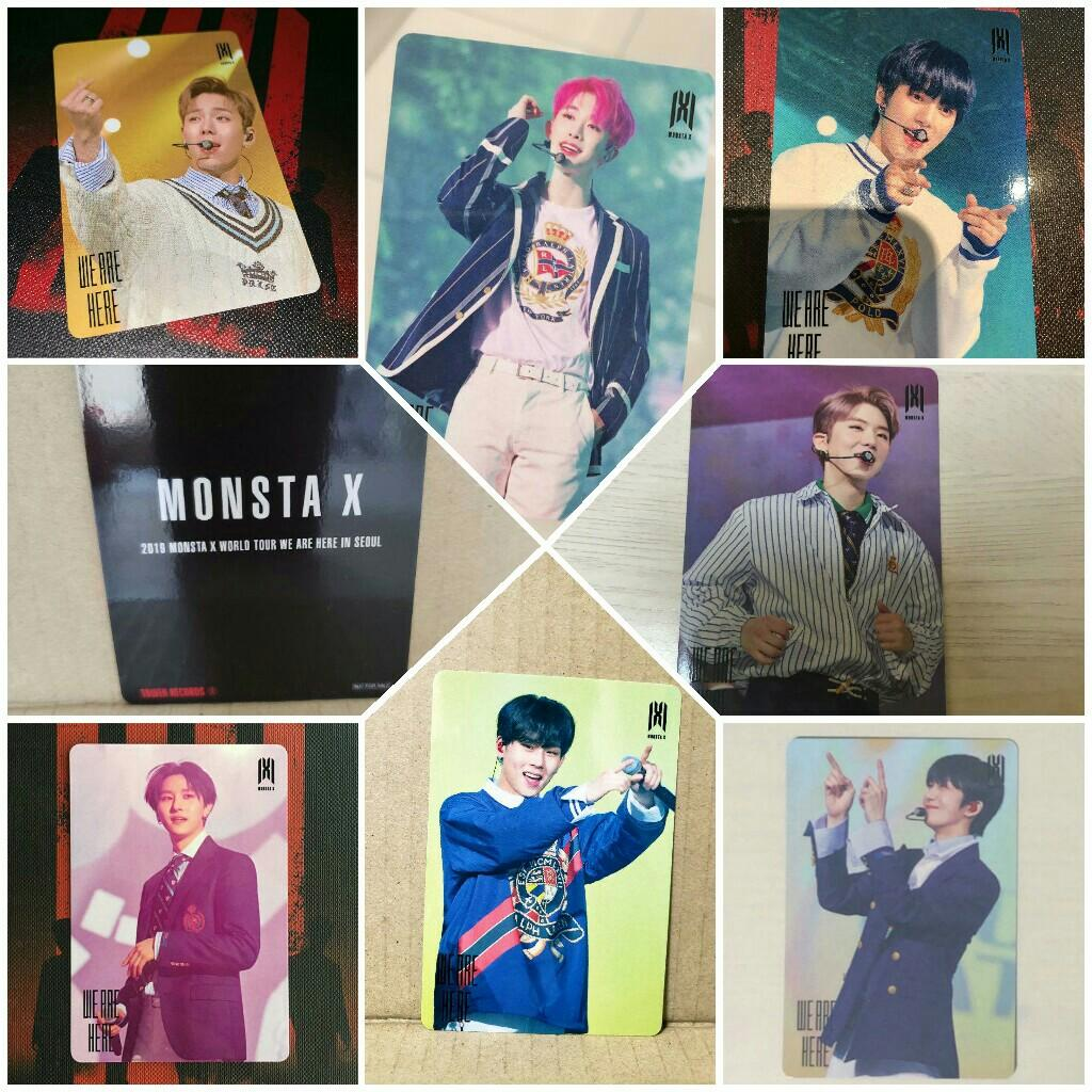( GO ) MONSTA X < W.A.H > WORLD TOUR : TOWER RECORDS LIMITED PC
