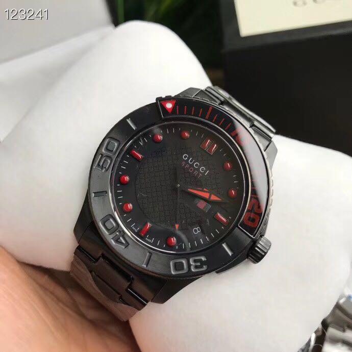 (可分期/議價)新款 GUCCI 男士錶/43mm/ya126230