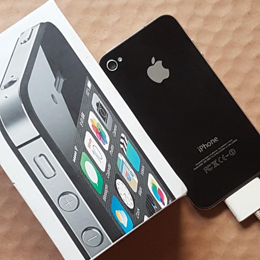 ⭕全新品 iPhone 4S 黑色