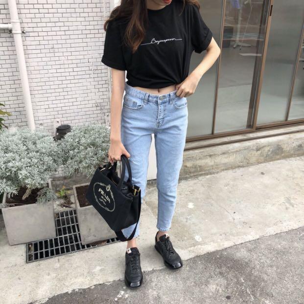 正韓🇰🇷 Nuhi正韓超級fit牛仔褲