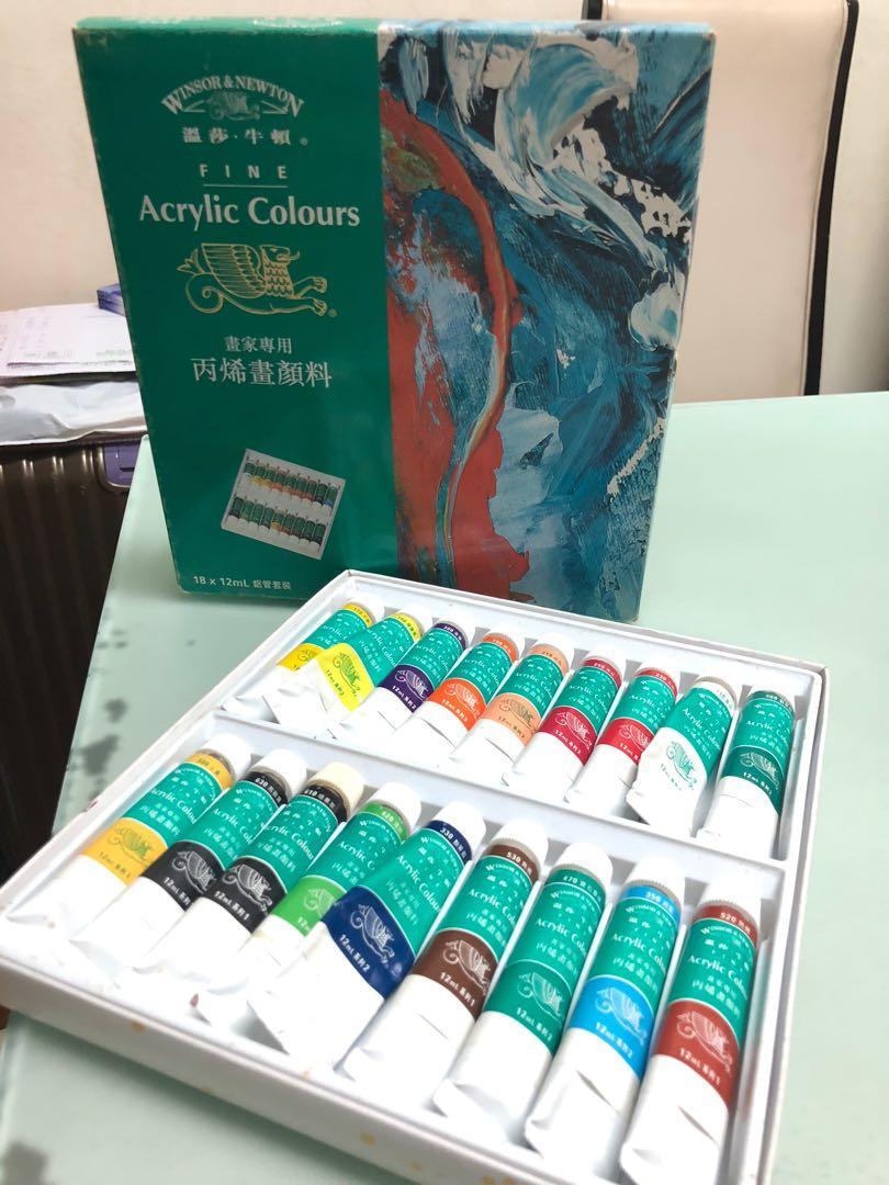 丙烯畫顏料 Acrylic Colours -溫莎.牛頓