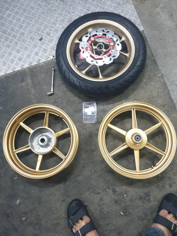 Aerox change rcb sport rim