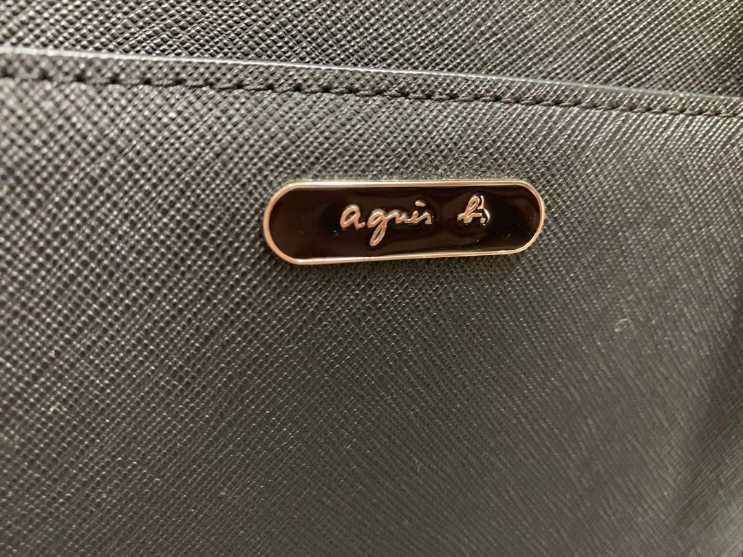 Agnes b. 牛皮防刮側背包