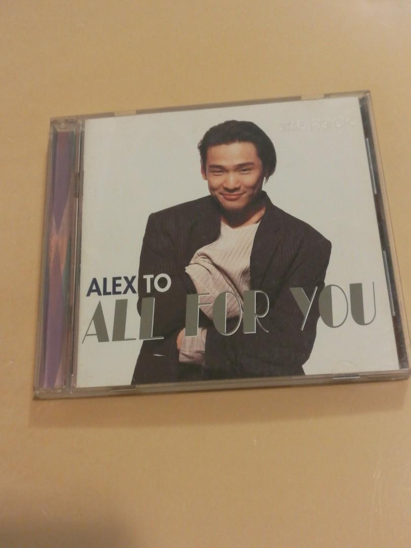 Alex To All for you 杜德偉專輯 CD 滾石出品