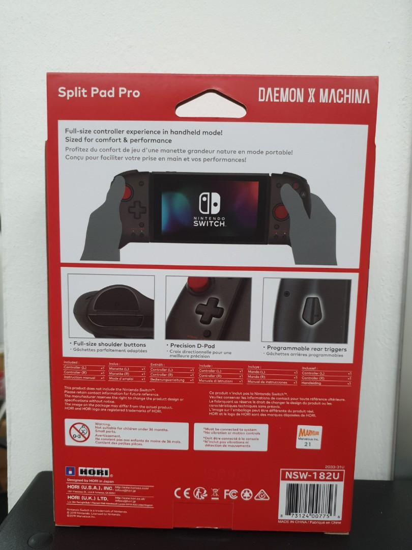 (Brand New) Hori Daemon x Machina Split Pad Pro Controller for Nintendo Switch