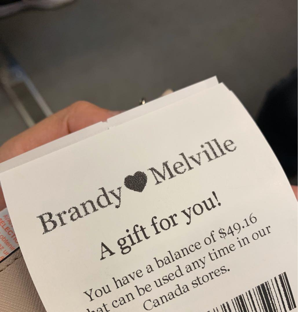 Brandy Melville Gift card