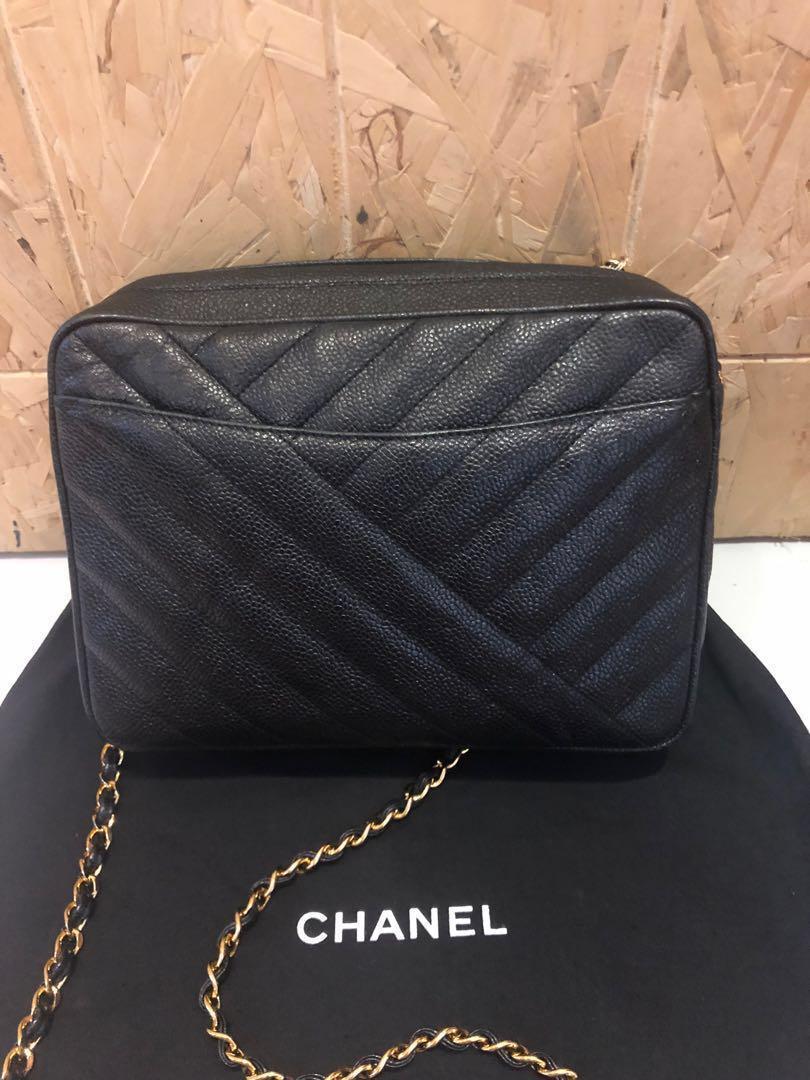 Chanel caviar vintage  sling Bag