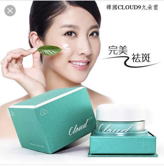Claires korea cloud 9. Anti wrinkle, anti freckle cream