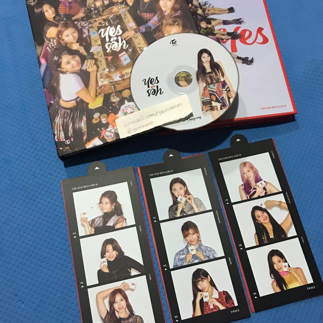 [CLEARANCE] UNSEALED Twice Yes Or Yes YOY Official Album Chaeyoung CD