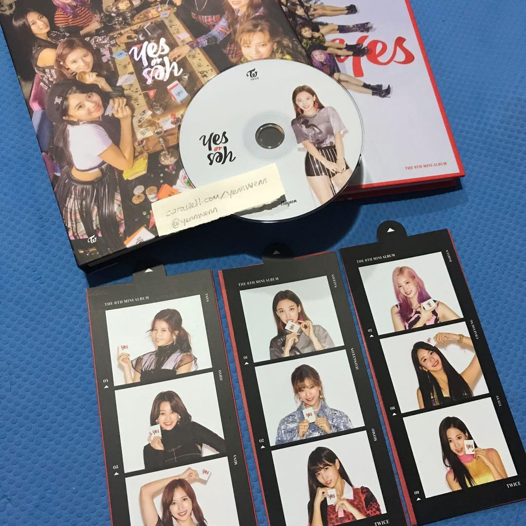 [CLEARANCE] UNSEALED Twice Yes Or Yes YOY Official Album Nayeon CD