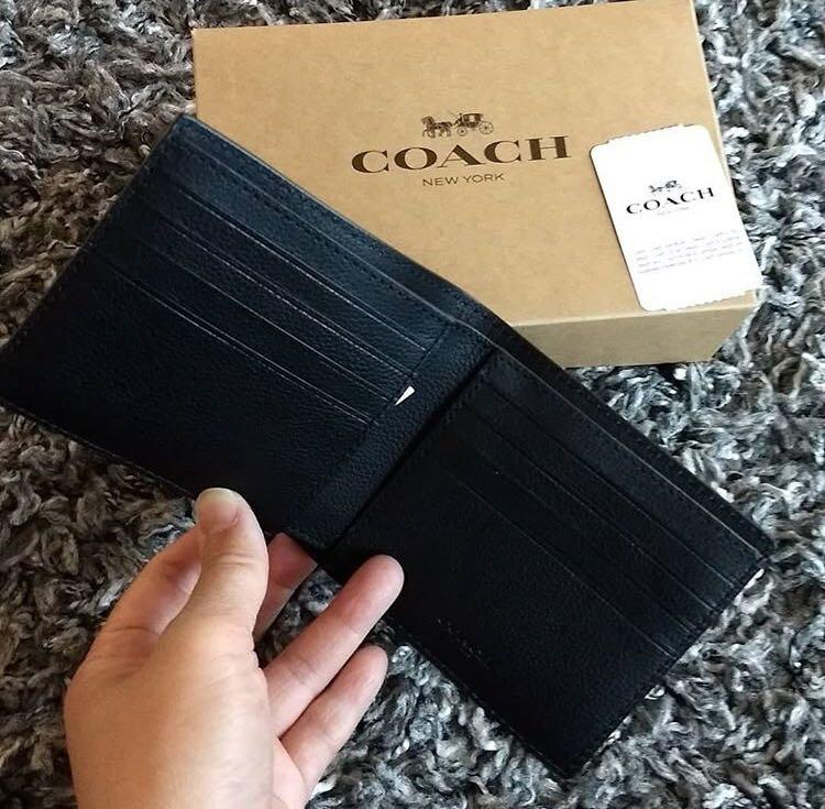 Coach Men Wallet 男裝銀包
