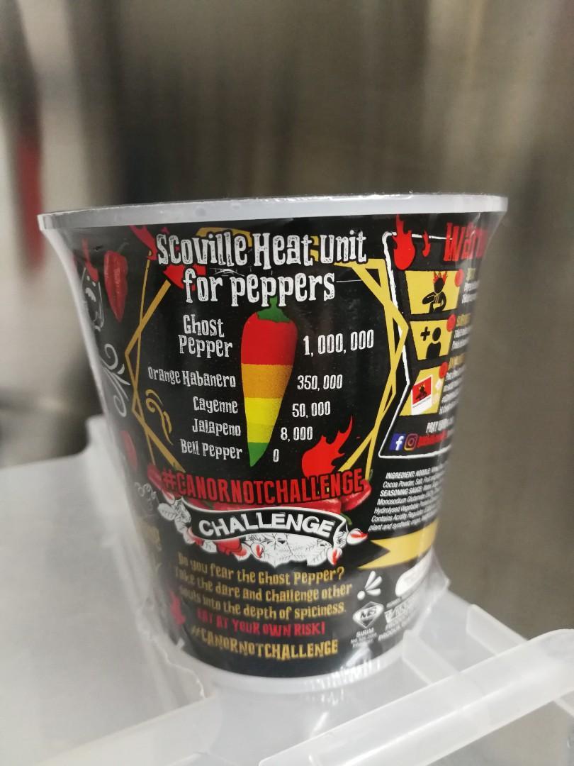 Daebak Ghost Pepper!! Chicken cup noodles