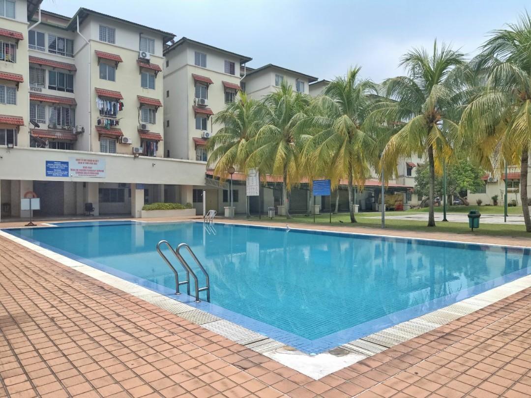 Damansara Damai Bayu Apartment Ground Floor