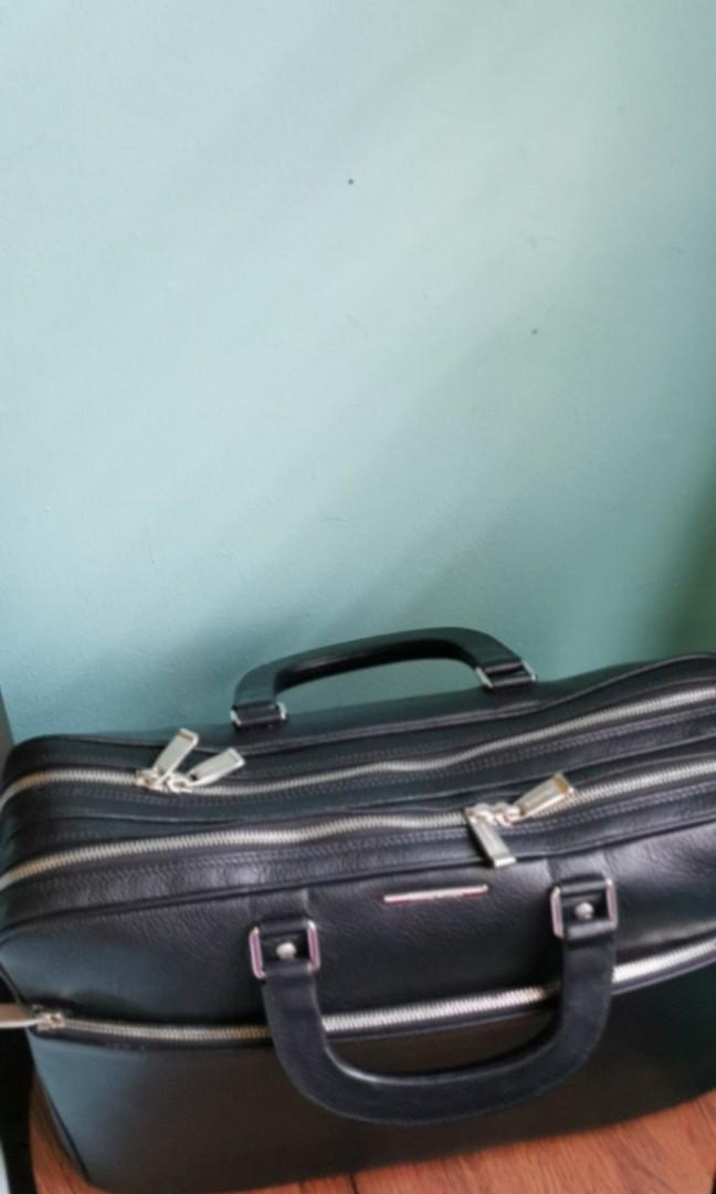 Ermenegildo Zegna Men's Leather Bag
