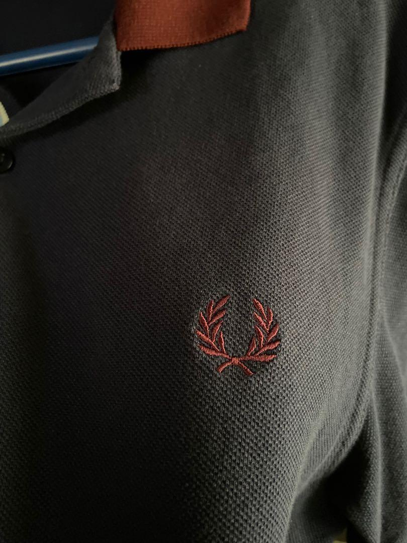 Fred perry bold cuff polo shirt