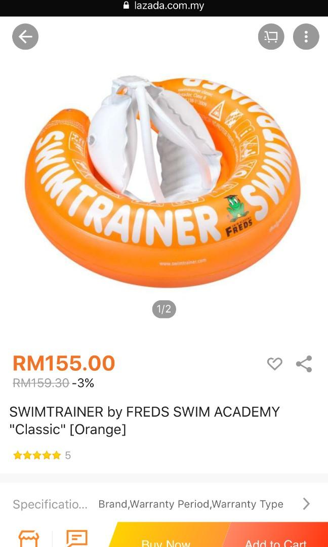 Fred's  swimming ring
