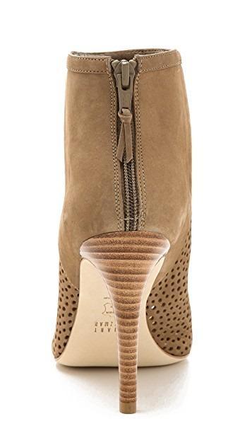 Gorgeous Stuart Weitzman Peep Toe Booties on Sale!!