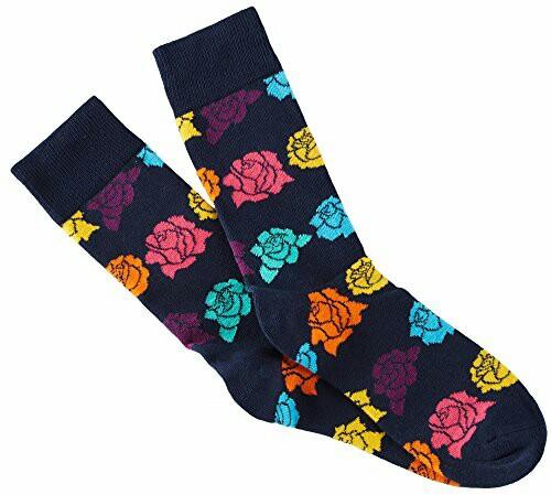 Happy Socks (Rose 玫瑰) 36-40 [包平郵] Sweden brand 瑞典名牌 made in Turkey