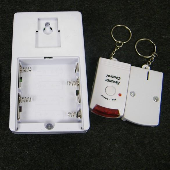 Home Security Wireless Infrared Sensor Motion Detector Alarm 2
