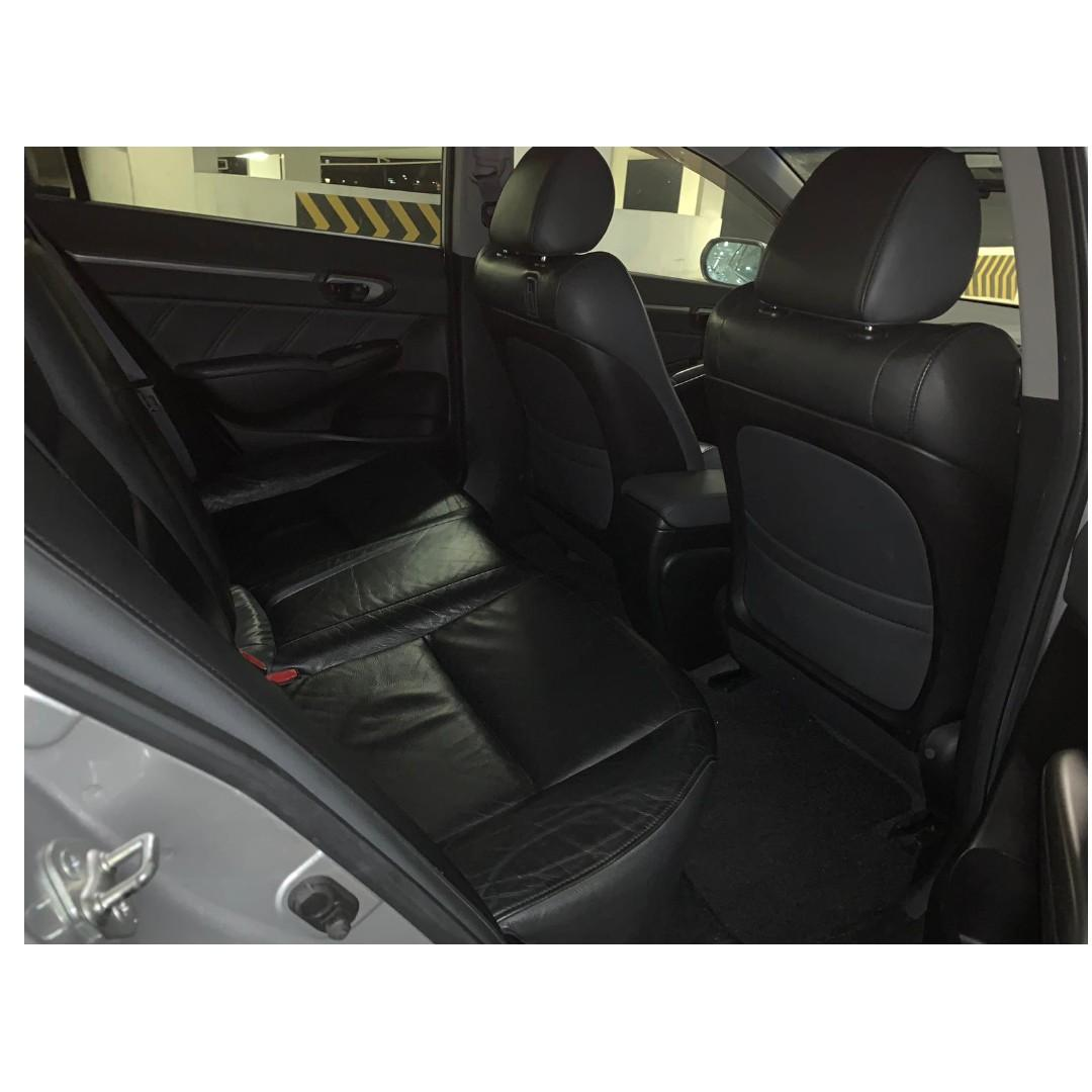 Honda Civic 1.8A - Many ranges of car to choose from, with very reliable rates!