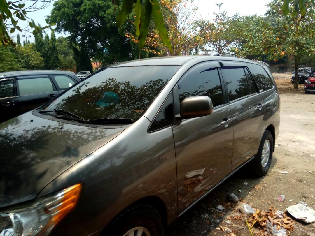 Innova E Disel Manual 2013, tangan 1  dark grey km 80 rb