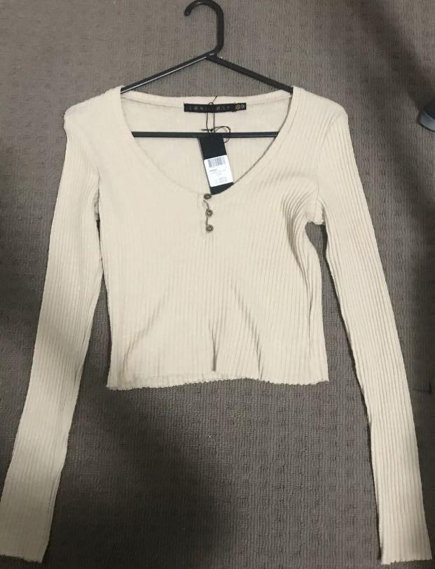Knit Top - Long Lost Size 10 - Brand New With Tags - RRP:$39.99
