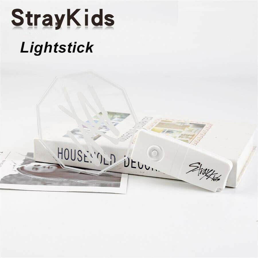 Kpop Stray Kids Concert Lightstick Bangchan Felix Fan Light Stick Glowing Lamp