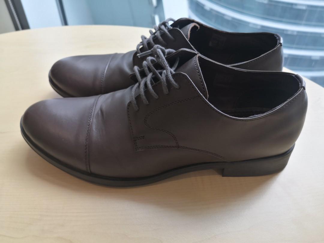 Leather Shoe Bata Ambassador, Men's