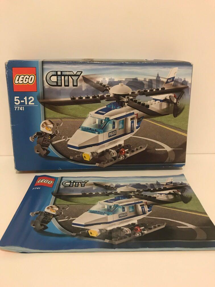Lego Police Helicopter 7741