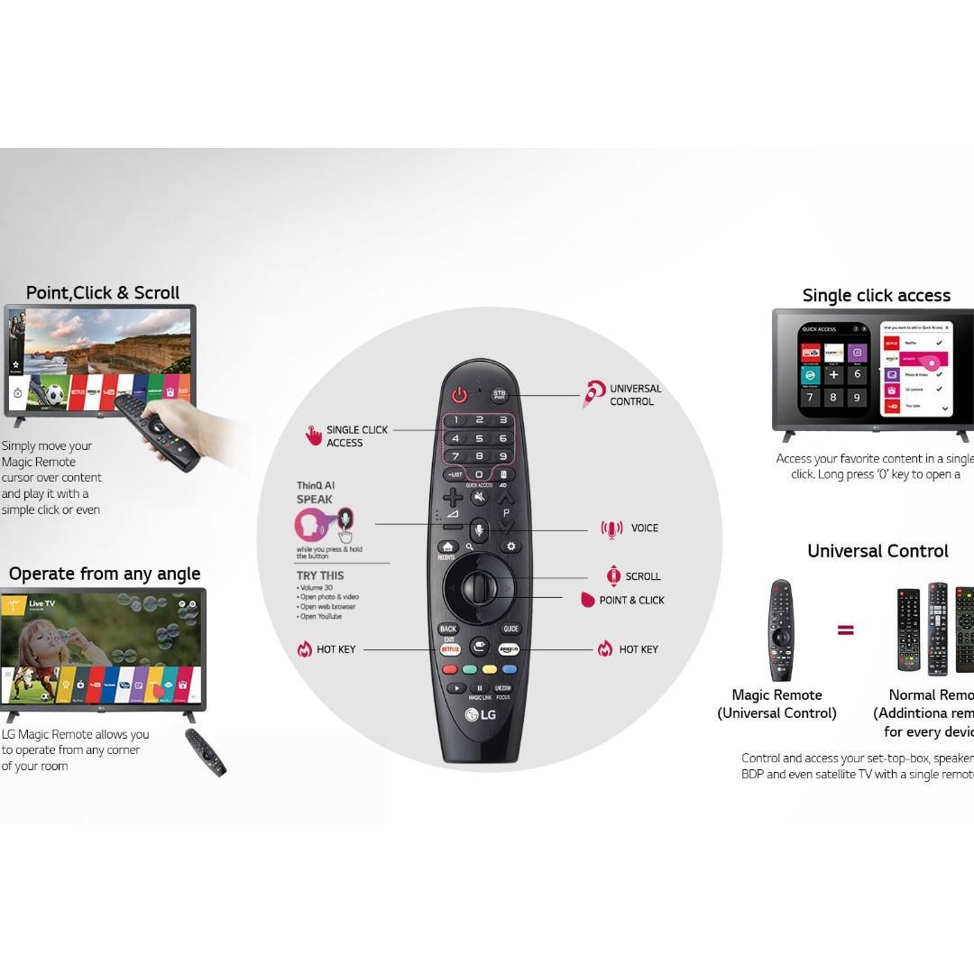 LG 55 inch UHD 4k Smart TV UM7600 2019 Model