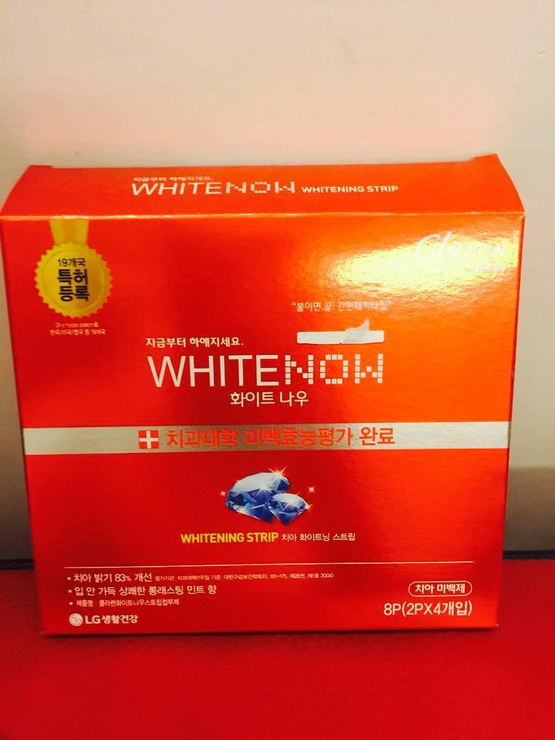 LG whitenow 牙齒美白貼片