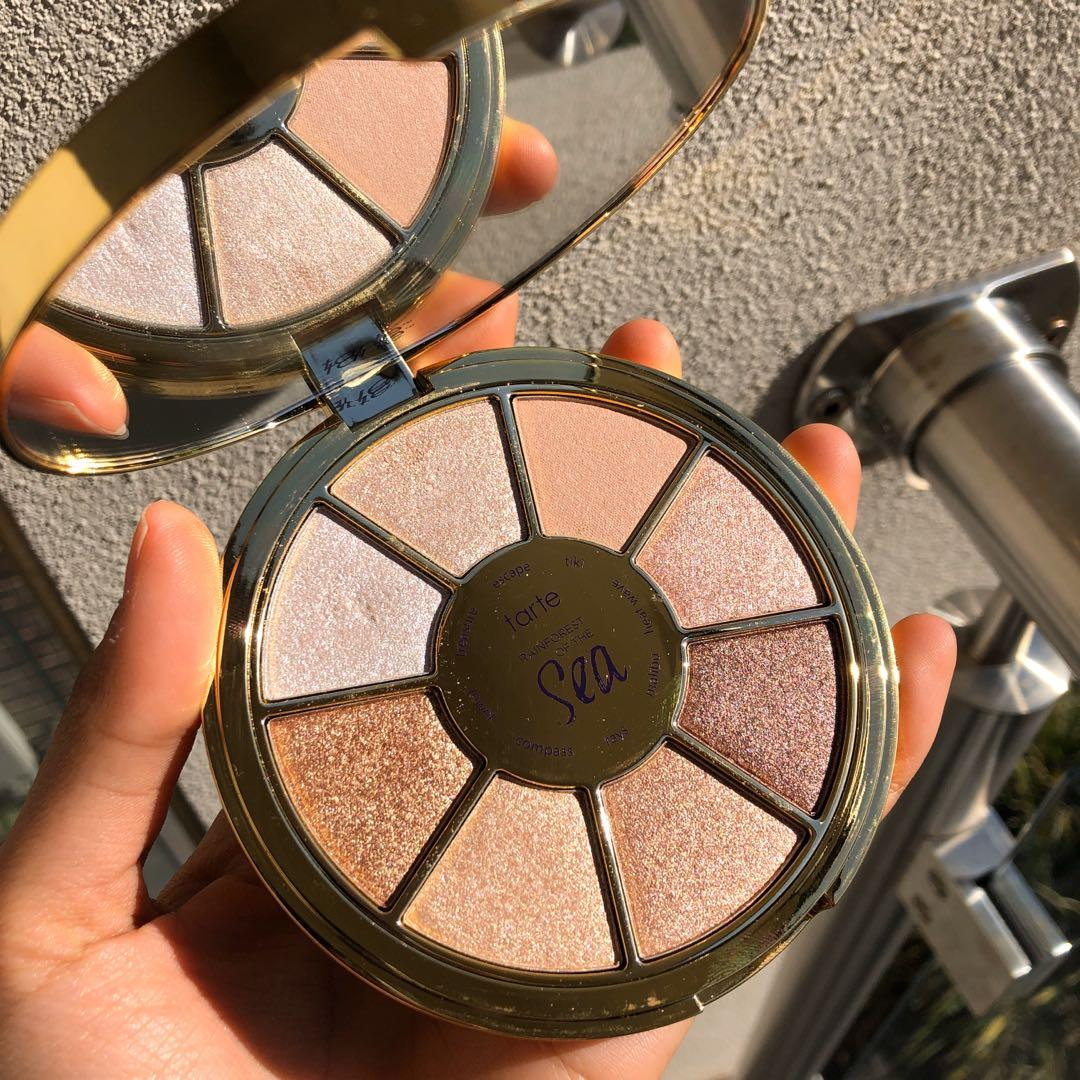 LIMITED EDITION Tarte Rainforest of the Sea highlighting eyeshadow palette vol. III 🧜♀️