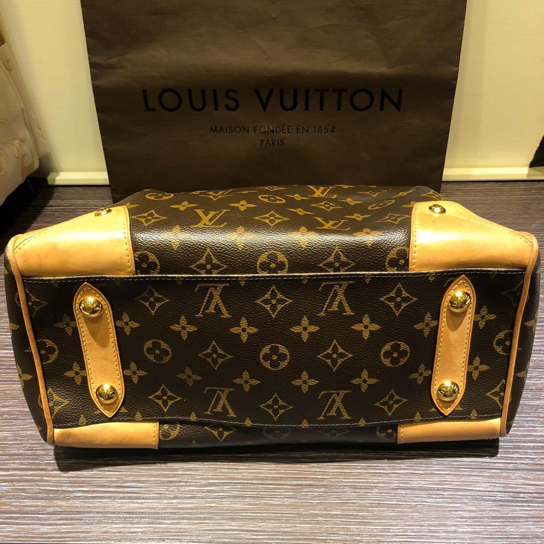 Louis Vuitton Retiro PM Handbag Luggage M40325 Monogram