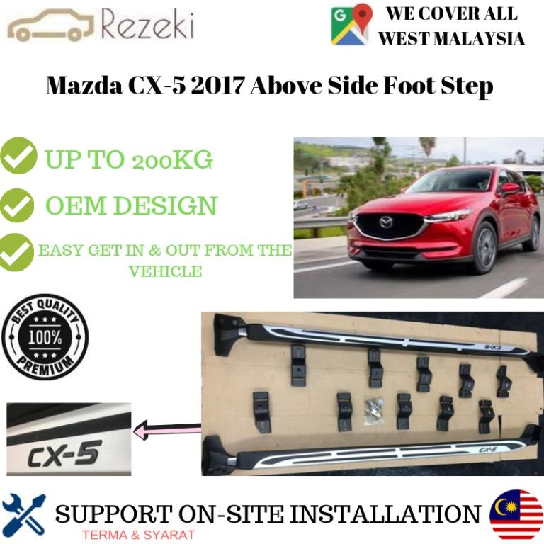 Mazda CX5 Running Board / Side Steps