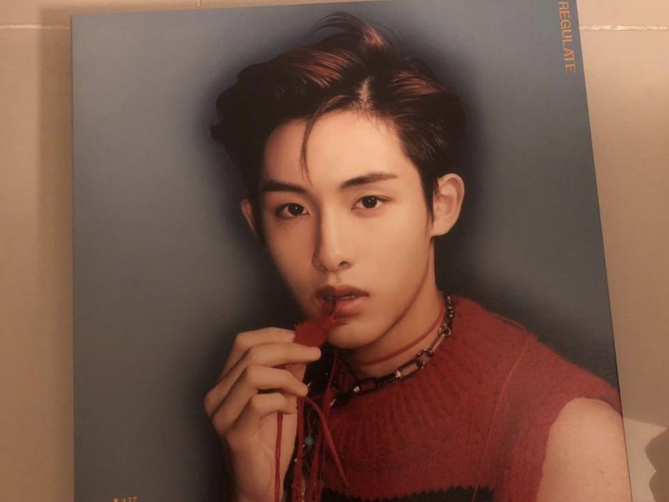 NCT 127 Regulate Repackage Album - TaeYong / WinWin / JaeHyun Version Available