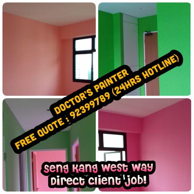 Nett Price Painting Package ! include Paint! 1 day completion!