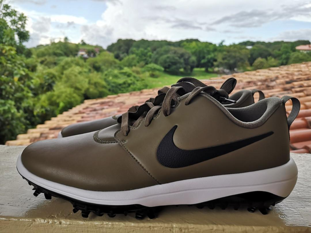 30 Off Nike Roshe Tour G Olive Black Golf Shoes Men S Size 10 Srp 5 750 Pacsports Men S Fashion Footwear Others On Carousell