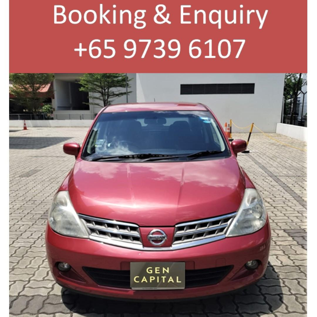 Nissan Latio 1.5A - Many ranges of car to choose from, with very reliable rates!