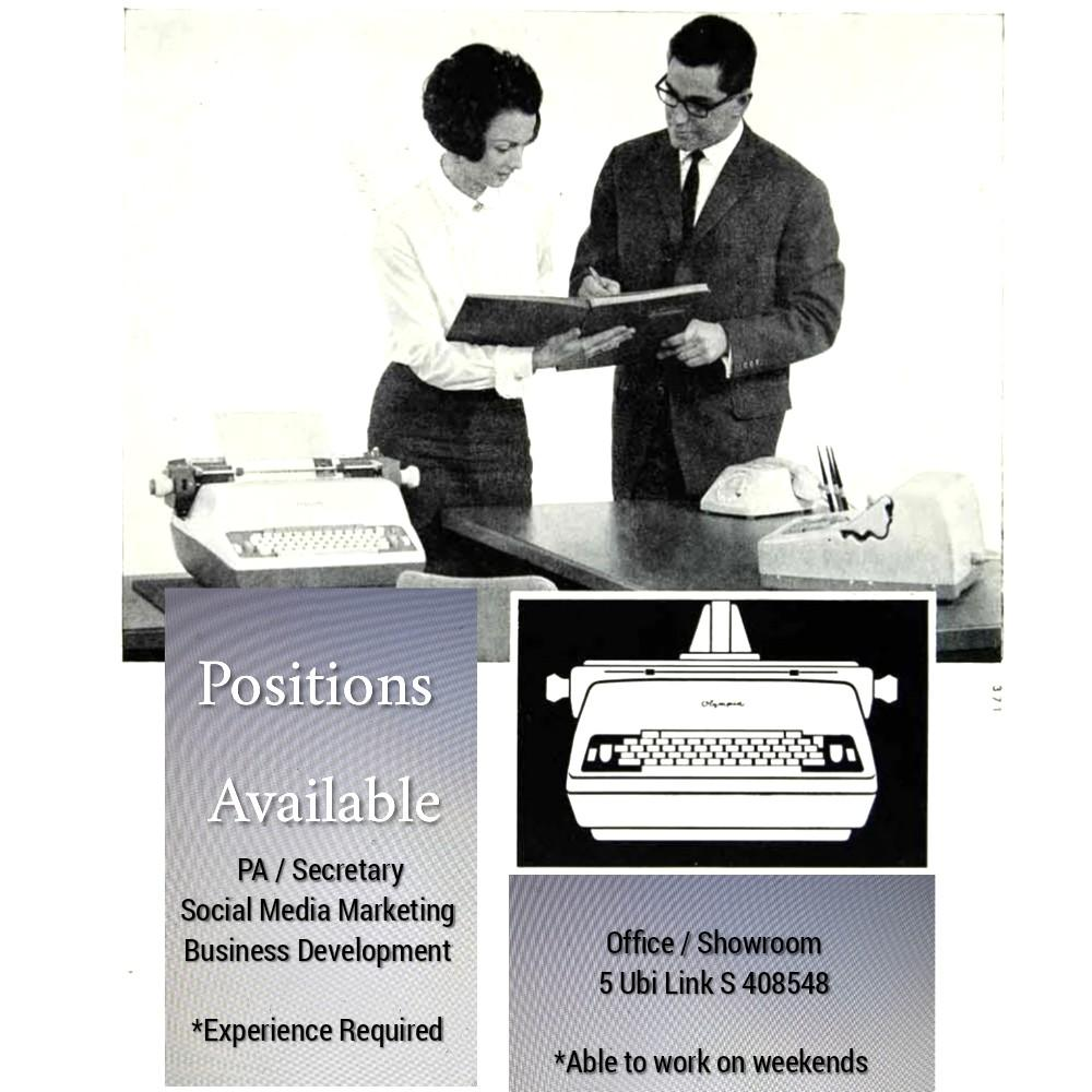 Sales / Secretary *Experience Required
