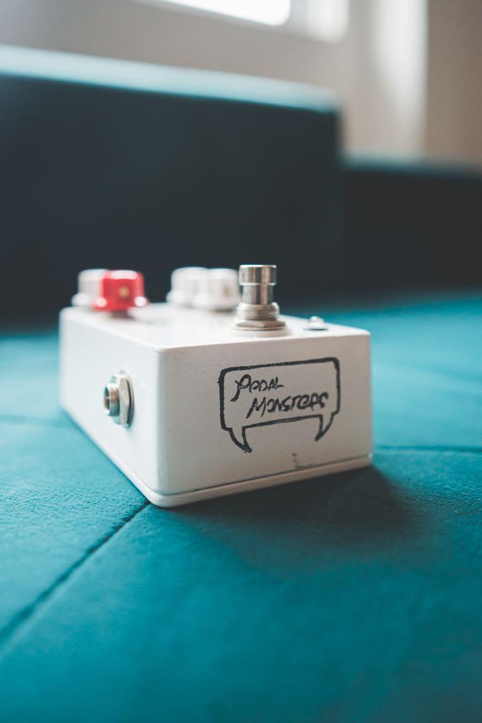 Pedal Monsters White Lightning v2 Overdrive Pedal