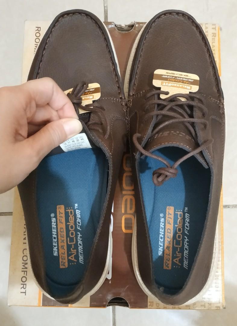 Sepatu Kulit Pria Skechers Original Size 46