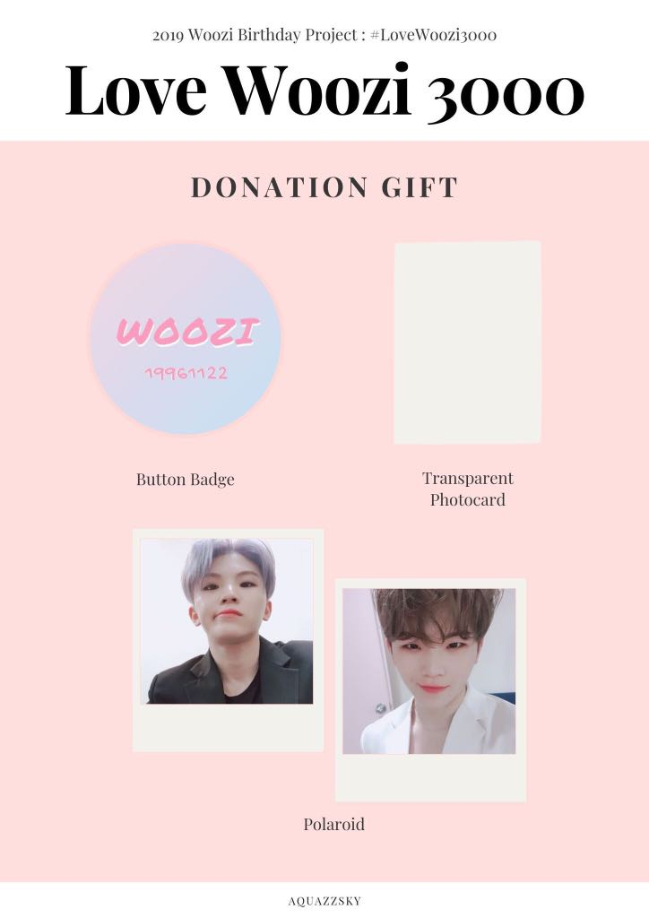 Seventeen Woozi Birthday Project 2019 #LoveWoozi3000