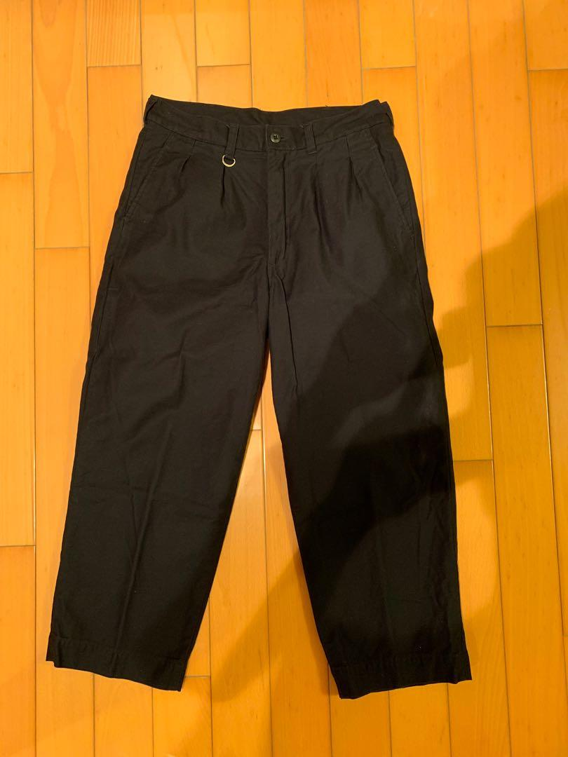 Sophnet 2 tuck colour pocket wide ankle cut pant Soph